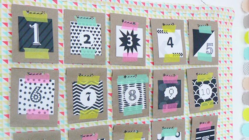 Un calendrier de l'Avent DIY avec photos pour toute la famille
