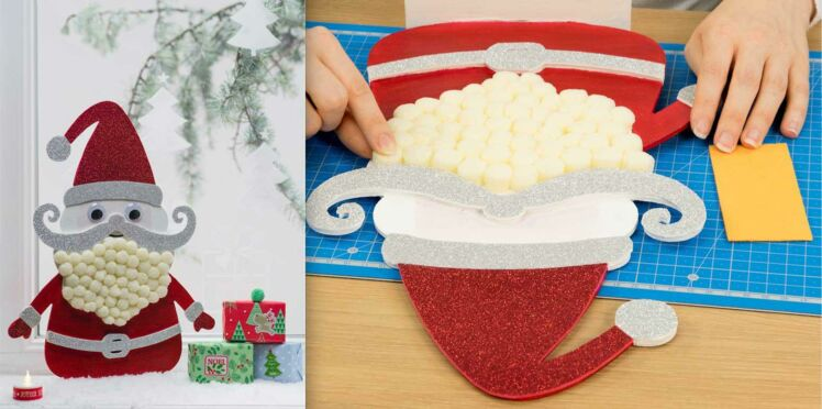 DIY Noël : un décor de fenêtre à faire avec les enfants