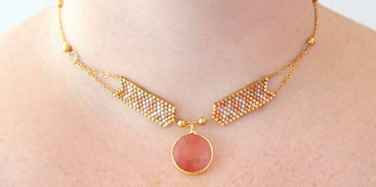 DIY perles Peyote : le tissage avec des diminutions et des augmentations