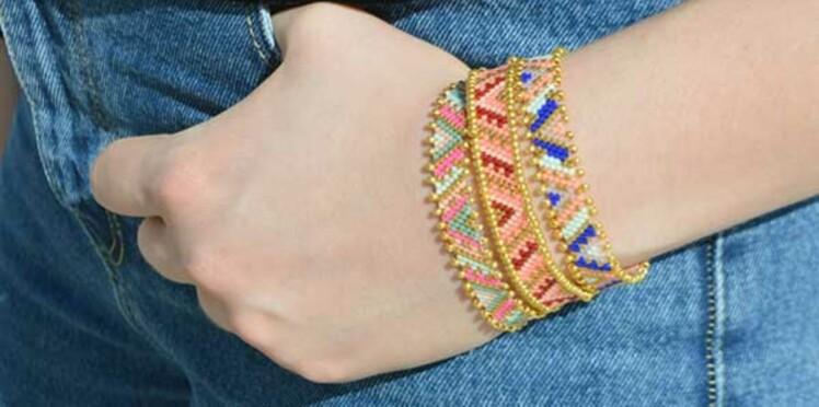 DIY perles Peyote : le tissage avec un nombre pair