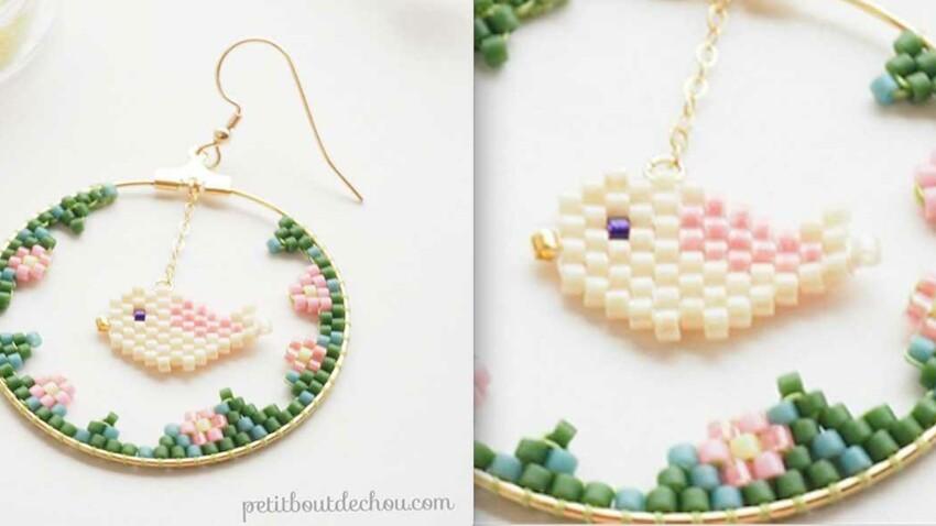 DIY perles Peyote : le tissage Brick Stitch