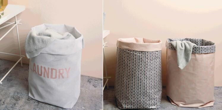 Diy : sacs à linge à coudre et broder
