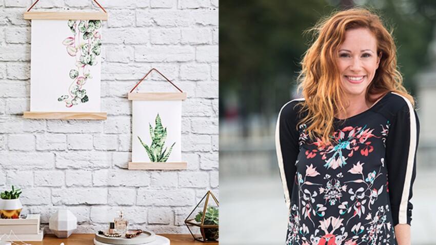 DIY : un support d'affiche en bois par Sophie Ferjani