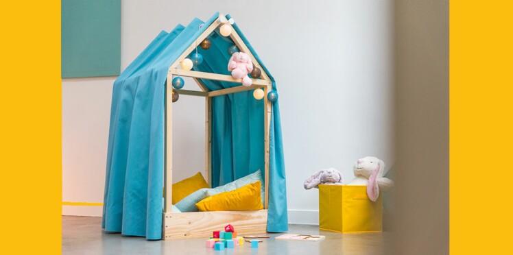 diy une cabane pour la chambre d enfant femme actuelle. Black Bedroom Furniture Sets. Home Design Ideas