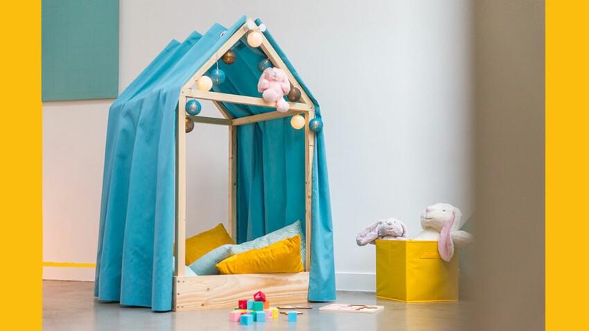 DIY : Une cabane pour la chambre d'enfant