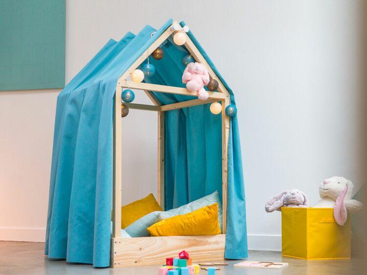Diy Une Cabane Pour La Chambre D Enfant Femme Actuelle Le Mag