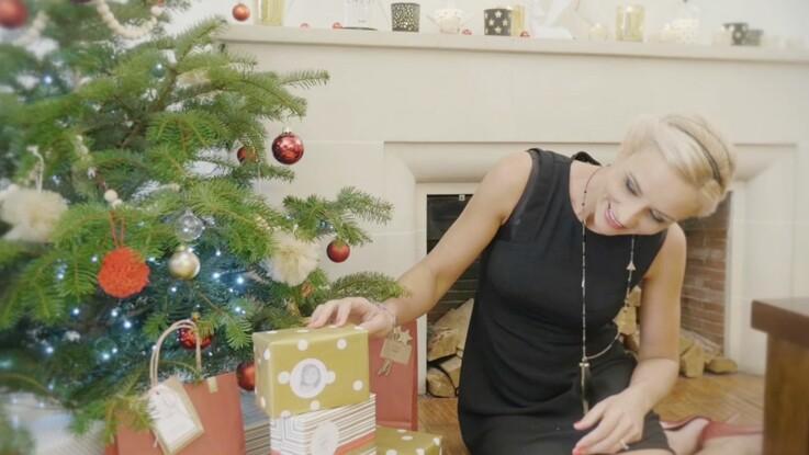 Elodie Gossuin : sa décoration de Noël à imprimer
