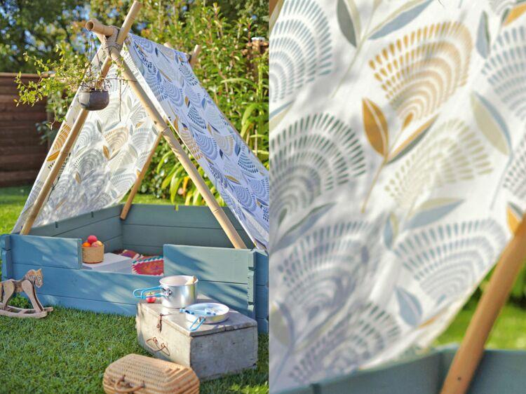 fabriquer un tipi pour les enfants femme actuelle le mag. Black Bedroom Furniture Sets. Home Design Ideas