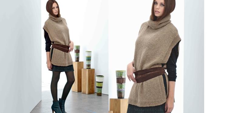 La tunique tricotée