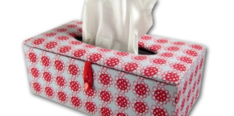 Réaliser une boîte à mouchoirs