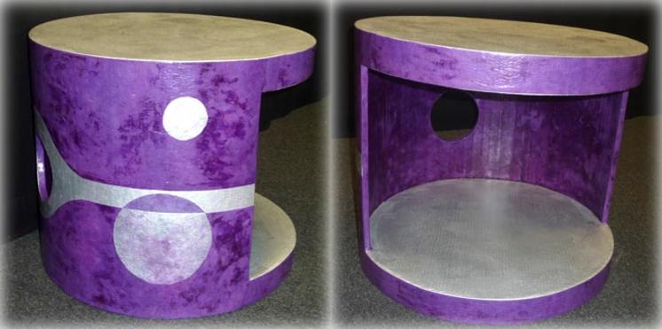 Réaliser un meuble en carton