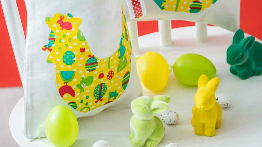 Mon tote bag de Pâques à faire soi-même