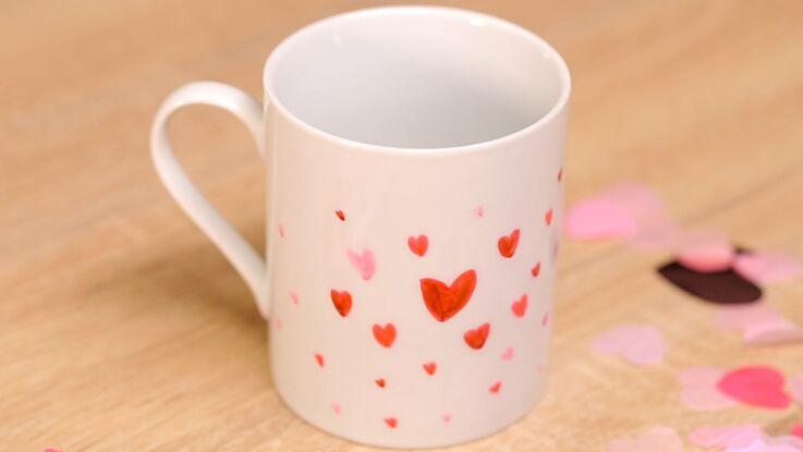 DIY : un mug personnalisé pour la Saint-Valentin