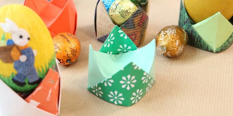 Origami Faciles Et Pliage De Serviettes Pour Une Déco De Pâques