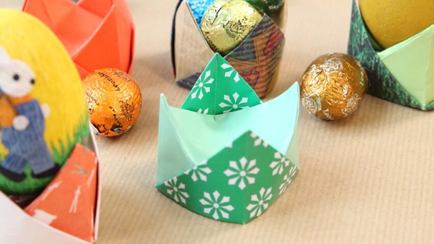 Origami faciles et pliage de serviettes pour une déco de Pâques express