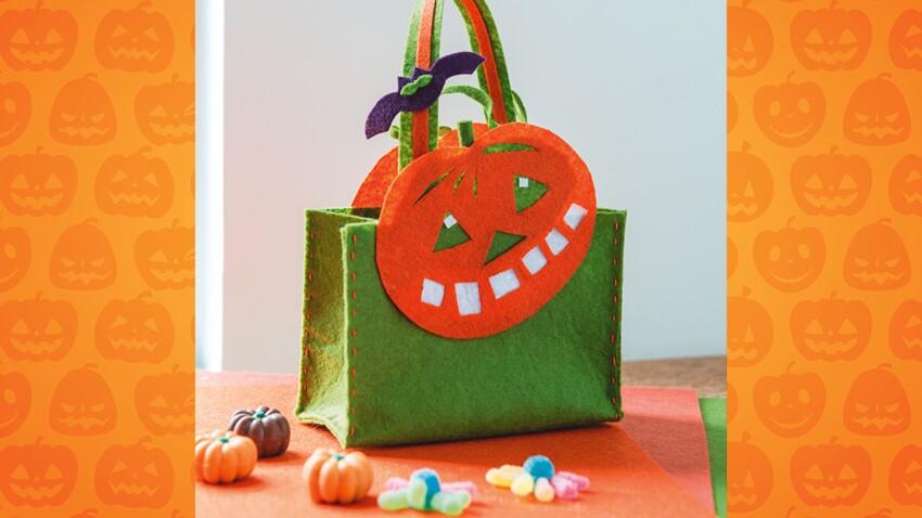 Un panier à bonbons facile pour Halloween