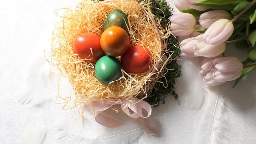 DIY de Pâques : des oeufs colorés au chocolat