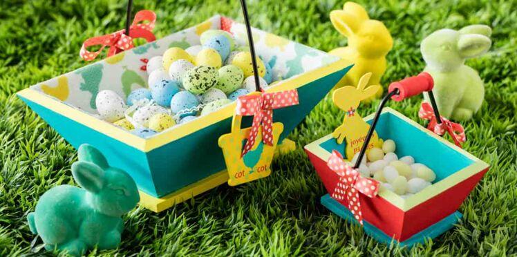 Pâques : des paniers à customiser