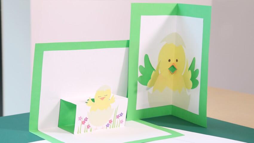 Pâques : je crée des cartes pop-up