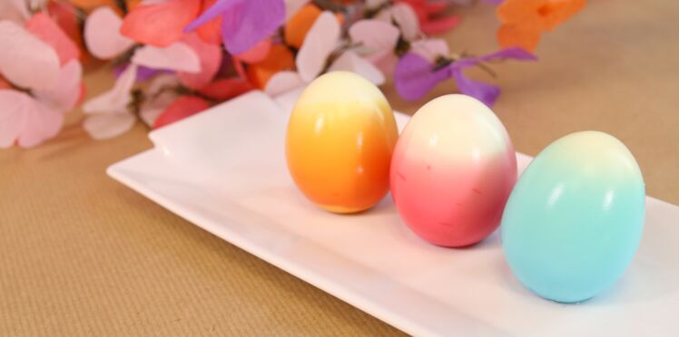 Pâques : des oeufs tie & dye pour la table