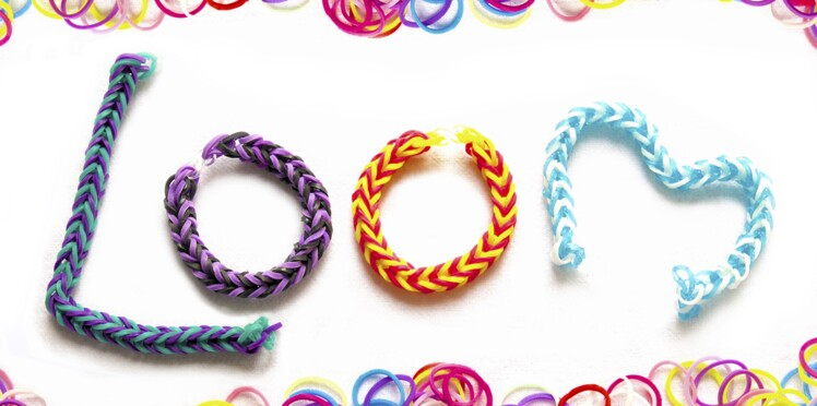 Rainbow loom : bracelets, charms et figurines
