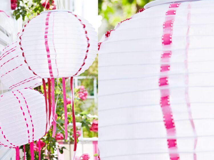 relooker des boules chinoises en papier femme actuelle le mag. Black Bedroom Furniture Sets. Home Design Ideas