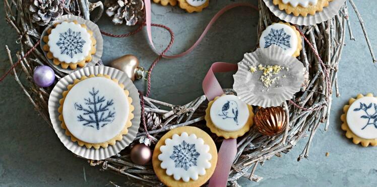 Sablés de noël à décorer : biscuits à motifs