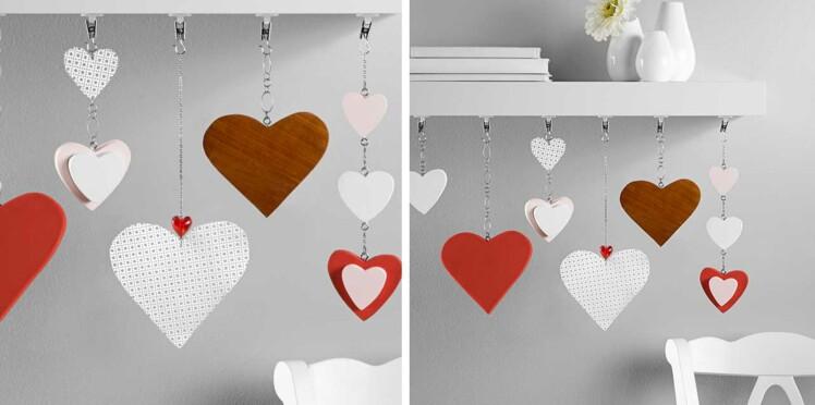 Saint Valentin : une guirlande de cœurs DIY à offrir
