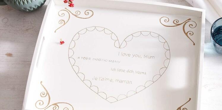 Saint-Valentin : un plateau DIY romantique à offrir