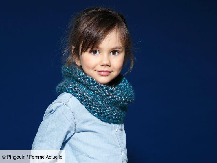 Un Snood Enfant Facile à Tricoter Femme Actuelle Le Mag