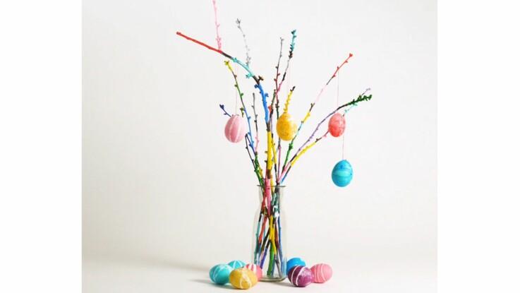 Teinter des oeufs pour une déco de Pâques originale