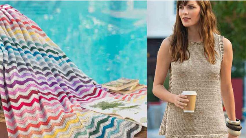 Tricot et crochet : les plus jolis modèles gratuits pour l'été