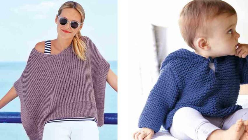 Tricot et crochet : nos modèles préférés pour l'été