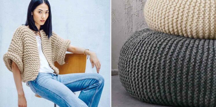 Tricot facile : 31 modèles gratuits à faire au point mousse