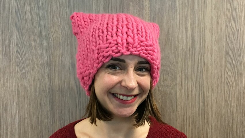 Tricot : le bonnet « Pussy hat »