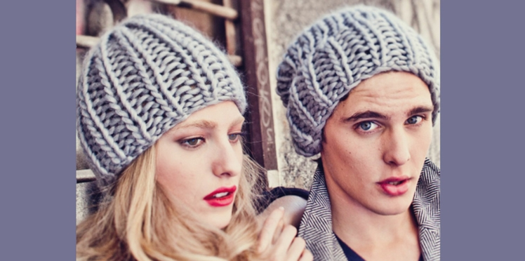 Tricot : terminer un bonnet avec We Are Knitters
