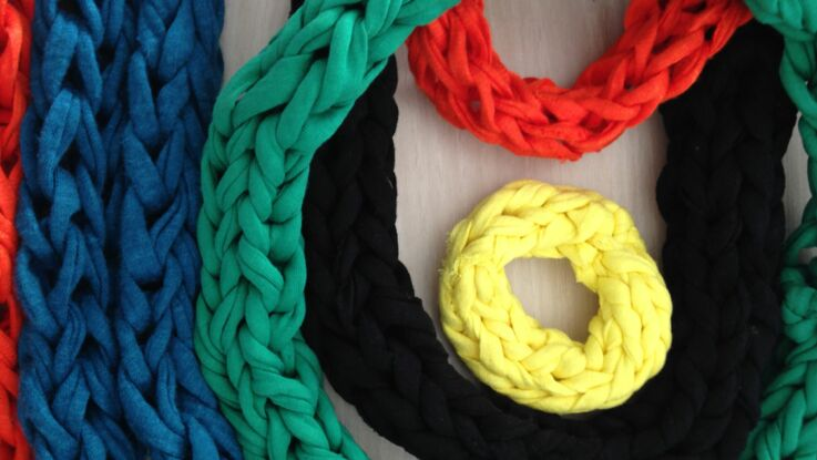 Comment tricoter avec les doigts