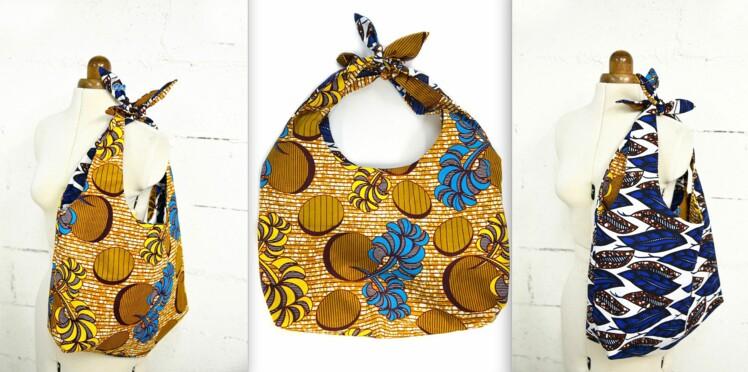 Tuto couture : un sac réversible en wax