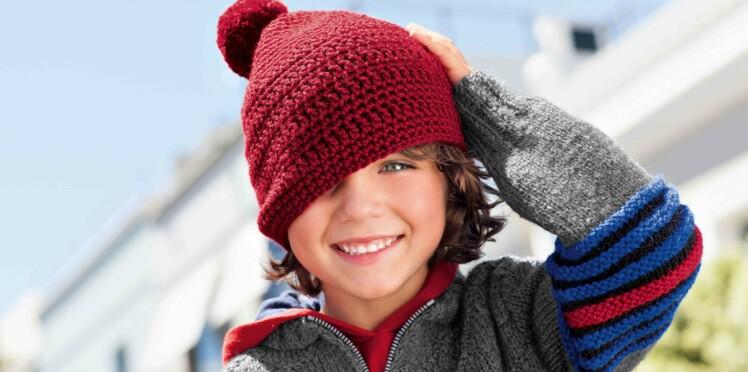 Un bonnet au crochet pour enfant
