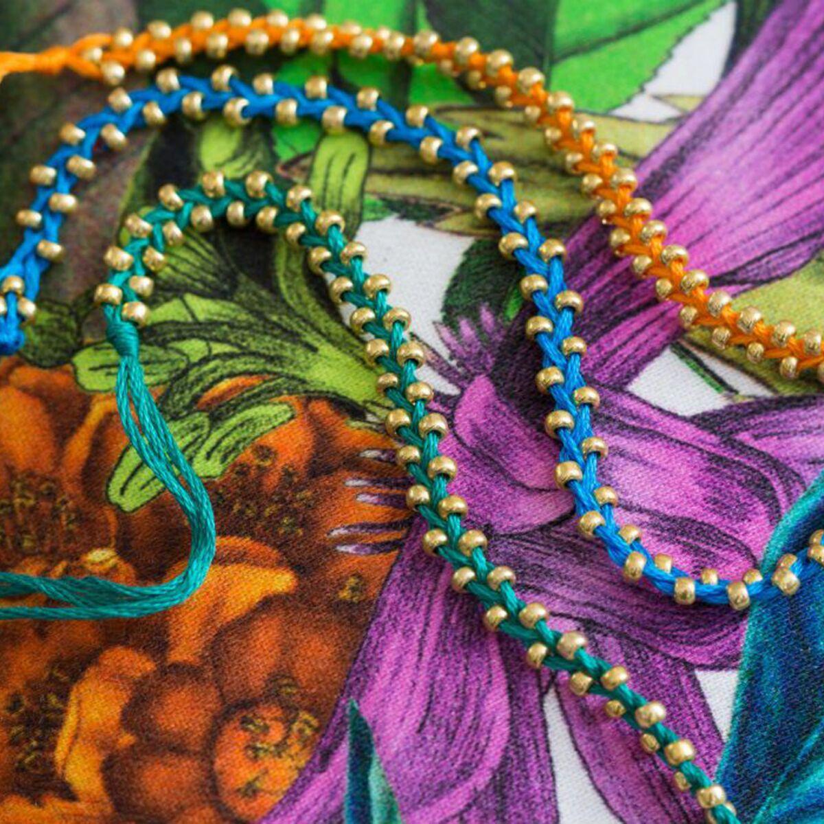 Un Bracelet Bresilien Facile A Faire Soi Meme Femme Actuelle Le Mag