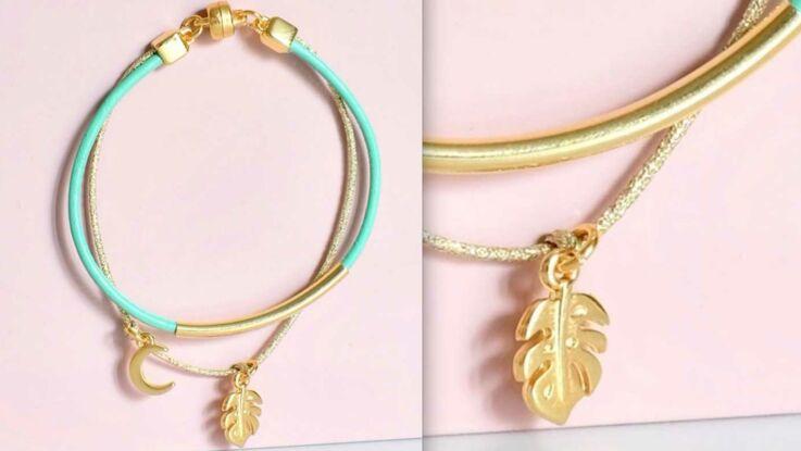 DIY : fabriquer un bracelet en cuir à pendentifs facile