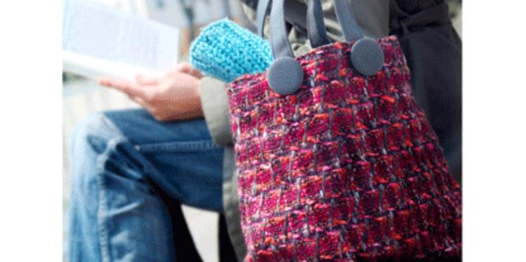 Un sac à main rétro