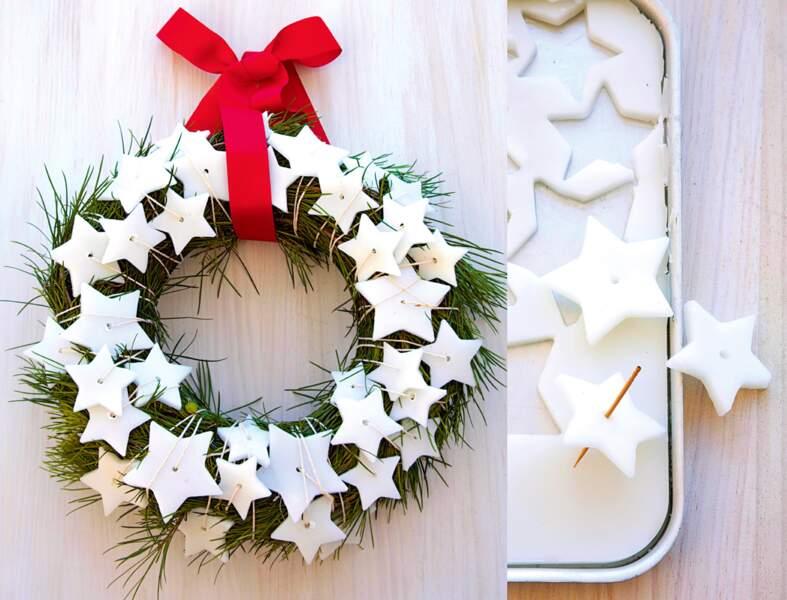 Une couronne de Noël facile à faire