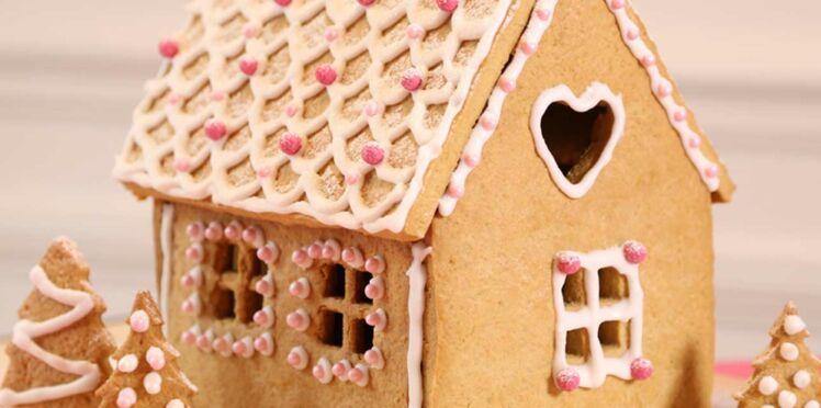 Vidéo : une maison en pain d'épices pour Noël