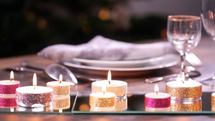 VIDEO - Un centre de table à prix mini pour Noël