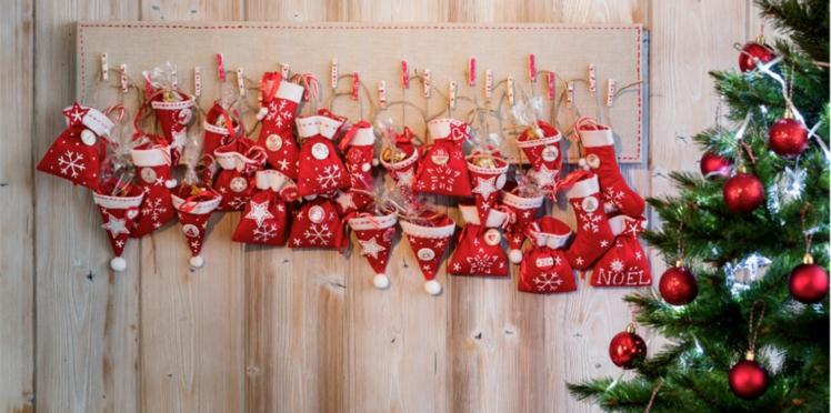 Vidéo de Noël : le calendrier de l'Avent en tableau