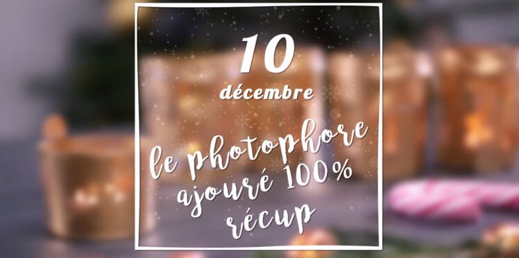 VIDEO - Un photophore de Noël ajouré 100% récup