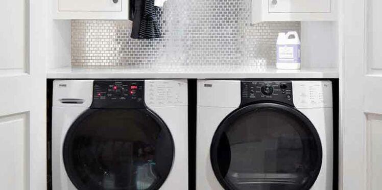 13 id es d 39 am nagements pour une buanderie organis e femme actuelle le mag. Black Bedroom Furniture Sets. Home Design Ideas