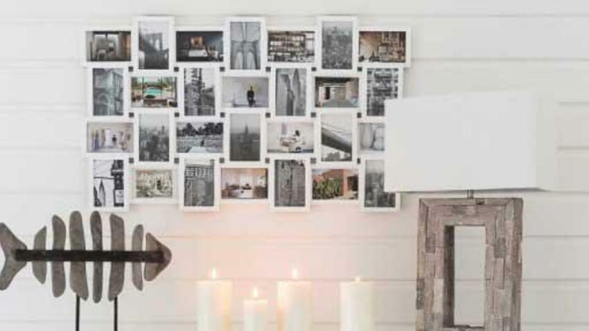 5 astuces pour accrocher des objets au mur sans percer