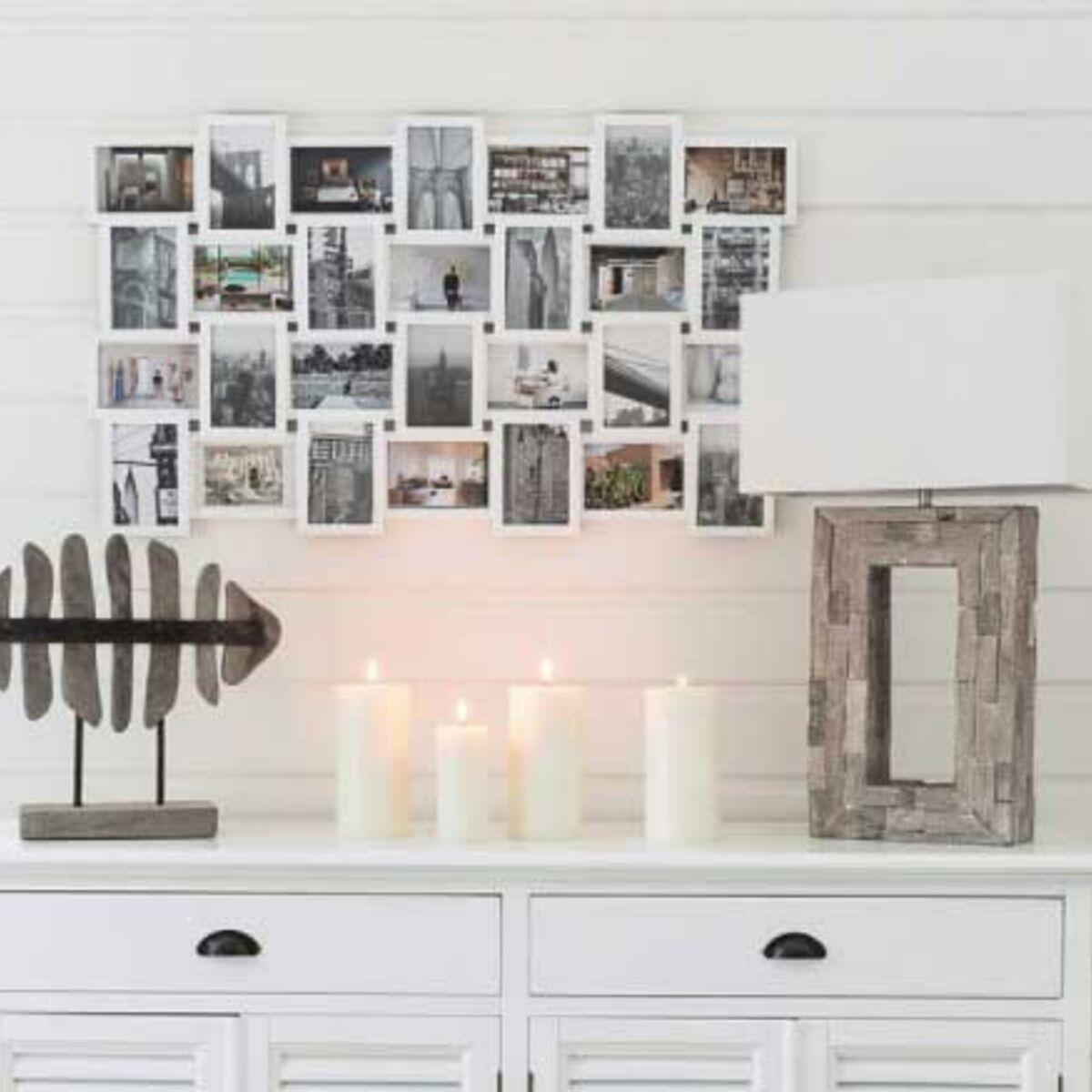 Faire Un Mur De Photos Décoration 5 astuces pour accrocher des objets au mur sans percer